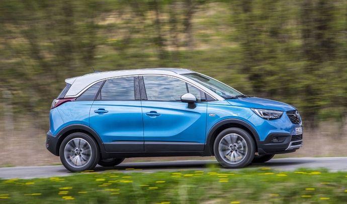 Opel : nouveau moteur diesel 120 ch sur le Crossland X