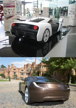 Design: deux concepts Nissan et Aston Martin qui ne se valent pas...