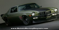 Chevrolet Camaro 1973 F-Bomb by Nelson Racing: 1500 ch en vidéo!