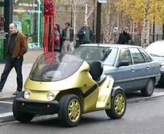 La Bi-Scot : le quad électrique   débarque à Paris