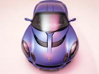Une Lotus auto-pilotée