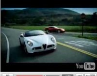 Vidéo : Alfa Romeo 8C spider et coupé façon Amicalement vôtre