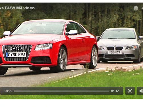 [vidéo] BMW M3 vs Audi RS5 par Autocar : victoire des anneaux