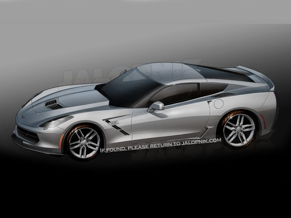 Future Chevrolet Corvette C7 : comme ça ?
