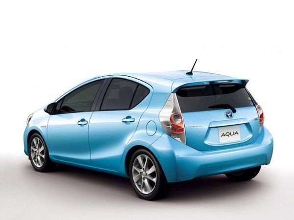Tokyo 2011 : nouvelle Toyota Aqua, c'est la Prius C
