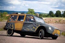 Insolite : Citroën Acadyane Woody Custom