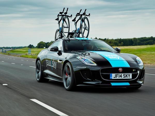 Une F-Type R Coupé spéciale pour le Tour de France dévoilée par Jaguar