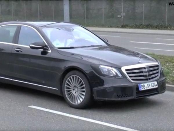 Scoop : la Mercedes Classe S restylée se promène