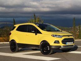 Ford : l'EcoSport bientôt produit en Roumanie