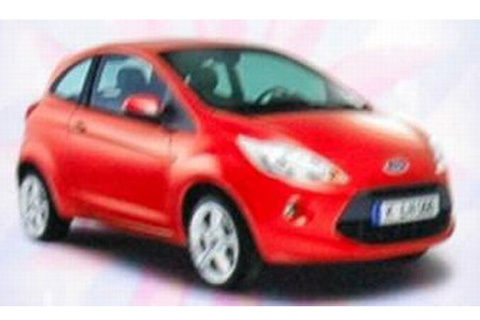 Future Ford Ka : c'est elle