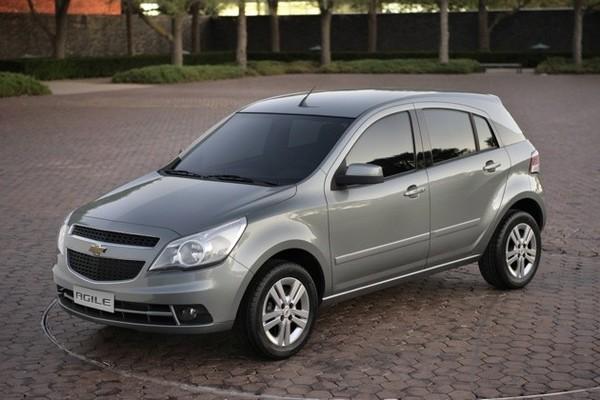 Chevrolet Agile: c'est elle!