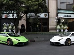 Lamborghini : deux nouvelles concessions en Chine