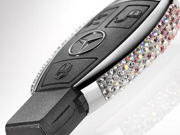 Faites de votre clé Mercedes un bijou avec Swarovski