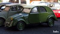 Miniature : 1/43ème - CITROËN TPV de 1939