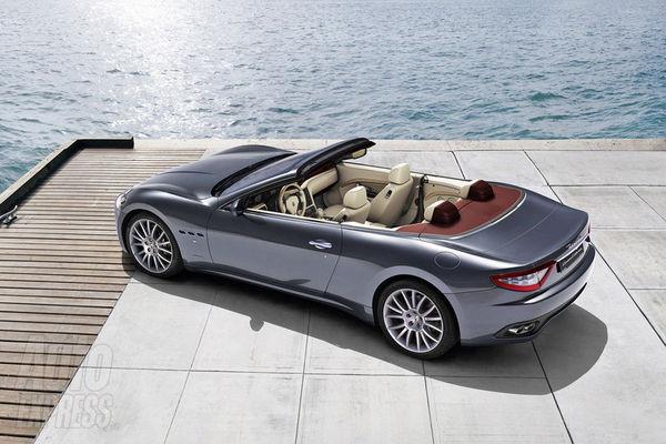 Nouvelle Maserati GranTurismo Spider: la voilà! splendide!