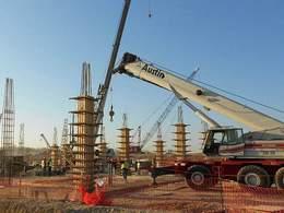 F1 : la construction du circuit d'Austin aux USA interrompue
