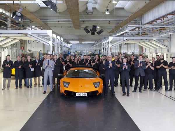 Fin de carrière pour la Lamborghini Murcielago. La 4099e sera la dernière