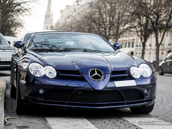 Photos du jour : Mercedes McLaren SLR Roadster