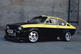 Opel Kadett GT/E Turbo : una bomba !
