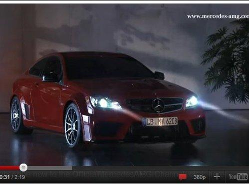[vidéo] Les nuits sauvages de la Mercedes C63 AMG Coupe Black Series