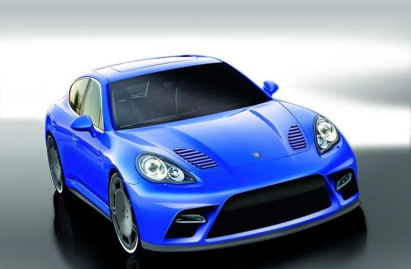 Les 1ères images de 9ff Panamera Turbo: jusqu'à 650 ch pour la nouvelle Porsche!