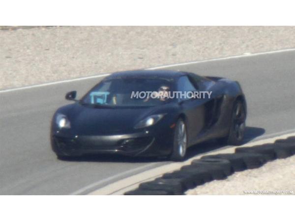 Surprise : la McLaren MP4-12C en version Spider