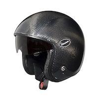Equipement : Vespa présente des casques jet fibres ou carbone