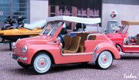 Miniature : 1/43ème - RENAULT 4cv Jolly
