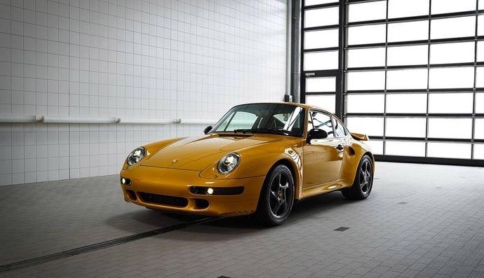 Porsche : la Project Gold vendue 2,7millions d'euros