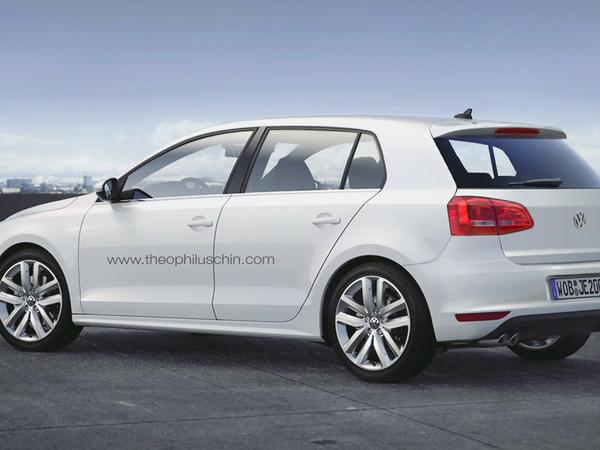 Prochaine Volkswagen Golf : comme ça ?
