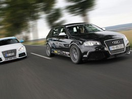 MR-Racing et Tij Power s'attaquent à l'Audi RS3