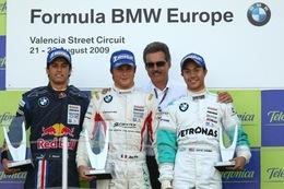 Formula BMW: Jim Pla premières! (devant le gratin de la F1)