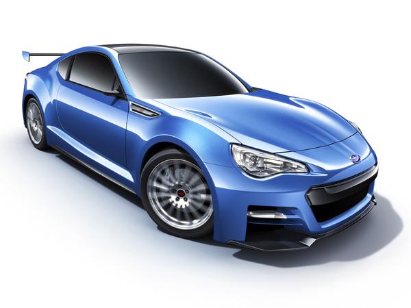 Los Angeles 2011 : Subaru BRZ STI Concept de près