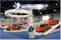 L'incroyable Stand Michelin au Sema Show...