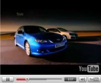 Vidéo Fifth Gear : Subaru Impreza WRX, VW Golf GTi et Vicky