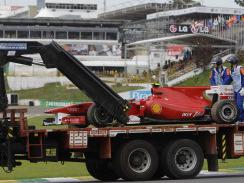 F1 - GP Brésil, Essais Libres 1 : les Red Bull en tête, panne et changement de moteur pour Fernando Alonso