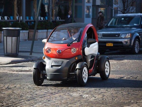 Salon de New York 2016 : Nissan New Mobility Concept - Le Twizy débarque aux US