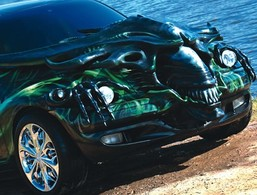 Saucisse du vendredi : Chrysler PT Cruiser Alien
