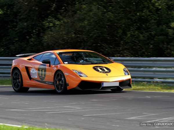 Photos du jour : Lamborghini Gallardo Superleggera (Nurburgring)