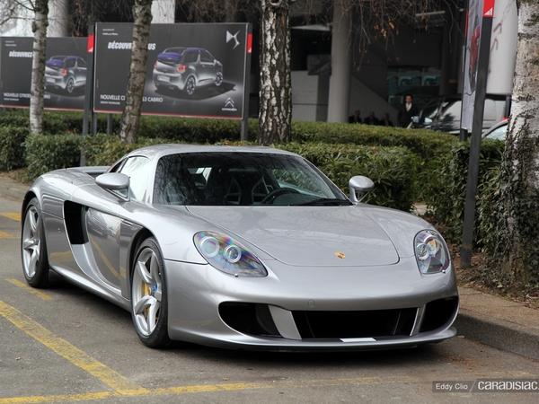 Photos du jour : Porsche Carrera GTZ