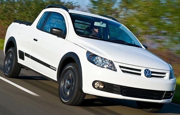 Volkswagen Saveiro : pour l'Amérique du Sud