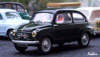 Miniature : 1/43ème - FIAT 600