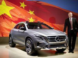Chine : Mercedes accusé de facturer trop cher ses pièces détachées