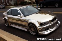 BMW M3 chromée by Alsa
