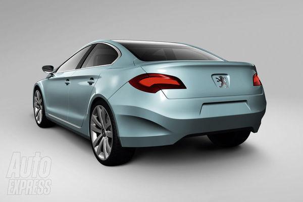 Future Peugeot 408 : comme ça ?