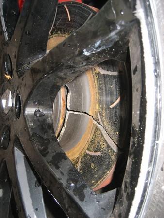 La Megane R26-R et ses disques (qui cassent !)