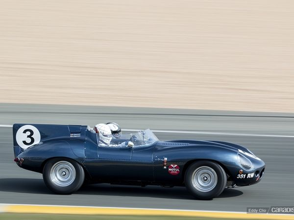 Photos du jour : Jaguar Type D