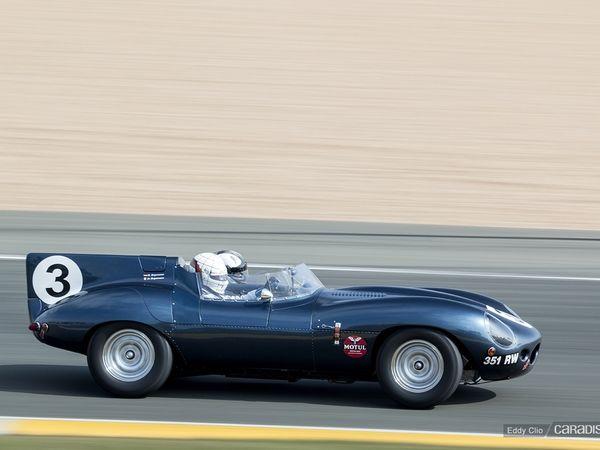 Photos du jour : Jaguar Type D