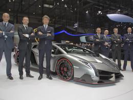 Résultats 2012 - Lamborghini repasse la barre des 2000 ventes
