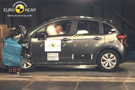 Nouvelle Citroën C3 : elle rate les cinq étoiles au crash-test